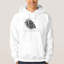 0101 Guinea Fowl Basic Hooded Sweatshirt