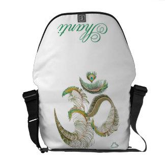 0101 Om 3 Medium Rickshaw Messenger Bag