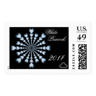 0101 White Peacock 2014 D Postage Stamps