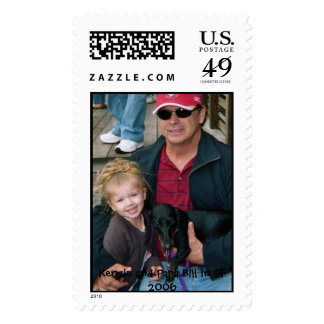 010_16A, Kenzie and Papa Bill in SF 2006 Stamps