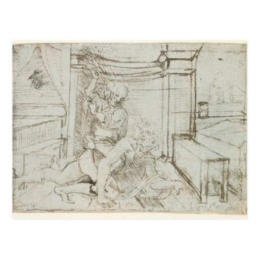 01147 Ludwig Wilhelm, Count of Baden , 1705 Postcard