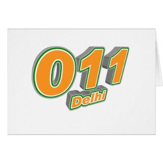 011 Delhi Card
