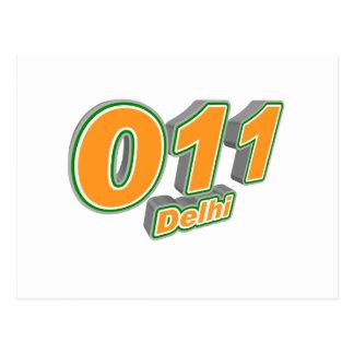 011 Delhi Postcard