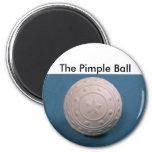 011, la bola de la espinilla iman de nevera