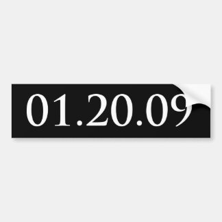 012009 Bumper Sticker