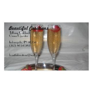012, creaciones hermosas, Tiffany Caldwell, poseer Tarjeta De Visita