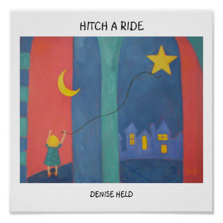012, HITCH A RIDE, DENISE HELD POSTER