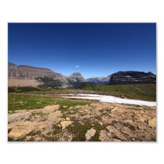 0142 Logan Pass in Glacier Photo Art