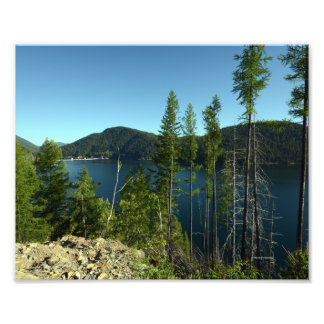 0154 8/12 Hungry Horse Reservoir in Hungry Horse. Photo Print