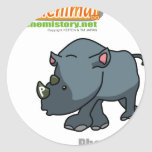015 Phos of Chenimal (Phosphorus) Classic Round Sticker