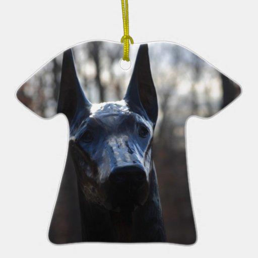 0166 servicio Dog.JPG Adorno Navideño De Cerámica En Forma De Playera