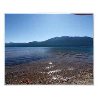 0178 8/12 St Mary Lake in Glacier Photo Print