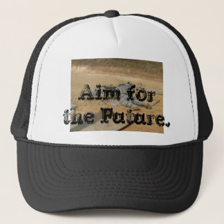 018, Aim for the Future. Trucker Hat