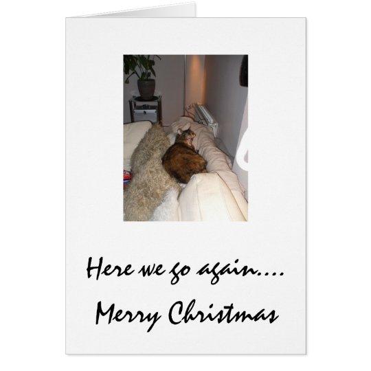 019, Here we go again...., Merry Christmas Card