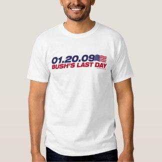 01.20.09 - the end of an error t shirt