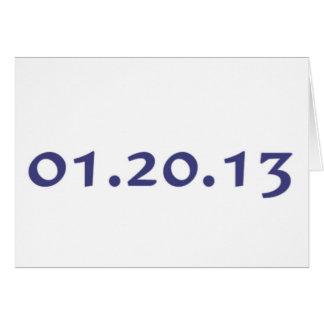 01.20.13 - El día pasado de Obama como presidente Tarjetas
