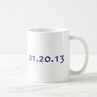 01.20.13 - Obama's last day as President Coffee Mugs