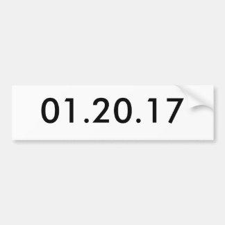 01.20.17 BUMPER STICKER