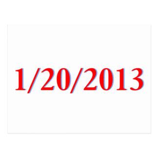 01/20/2013 - El día pasado de Obama como president Postales