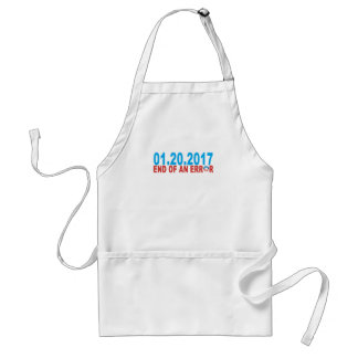 01 20 2017 END OF AND ERROR OBAMA ADULT APRON