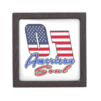 01 American Soul Birthday Designs Premium Trinket Boxes