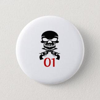 01 Birthday Designs Pinback Button