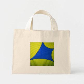 01 bolso amarillo y azul bolsa lienzo