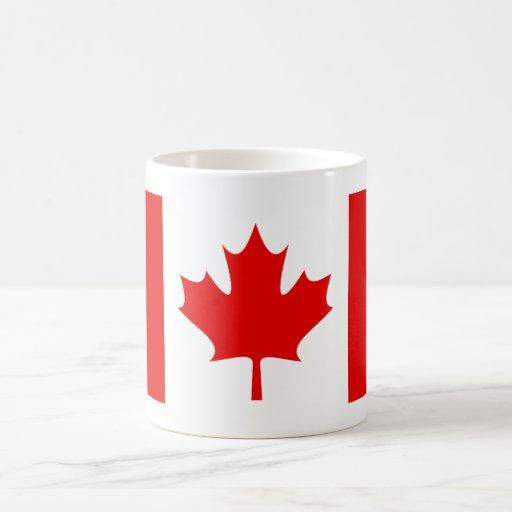 01 CANADIAN FLAG COFFEE MUG