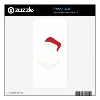 01 christmas_santacruz iPhone 4S decals