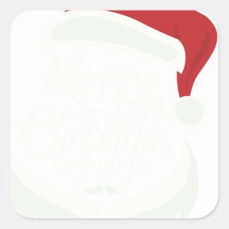 01 christmas_santacruz square sticker