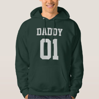 #01 Daddy Customize Hooded Pullover
