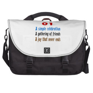 01 diseños del cumpleaños bolsa para ordenador