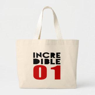 01 diseños increíbles del cumpleaños bolsa tela grande