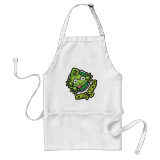 01 Horny Gecko Logo colour Adult Apron