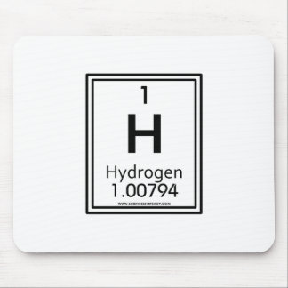 01 Hydrogen Mouse Pad