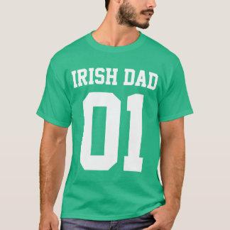 #01 Irish Dad Customize T-Shirt