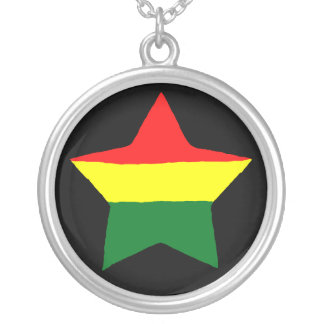 01 Jamaica Rasta Necklace