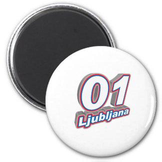 01 Ljubljana Magnet