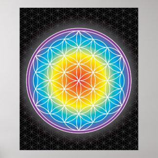 01 LUMINENCE - Flor de la vida Impresiones