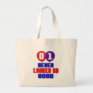 01 nunca parecido tan bueno bolsa tela grande