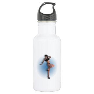 01 Pin-Up - 18oz Water Bottle