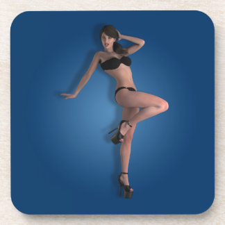 01 Pin-Up - Beverage Coasters