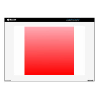 01 - Pink to Red Horizontal Gradient.png Decal For Laptop