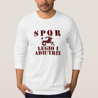 01 Trajan's 1st Supportive Legion -Roman Capricorn T-Shirt