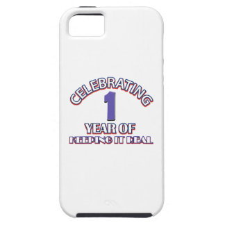 01 years of keeping it real iPhone SE/5/5s case