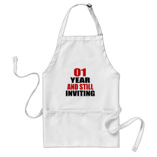 01 Years still Inviting Adult Apron