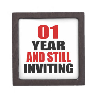 01 Years still Inviting Premium Trinket Boxes