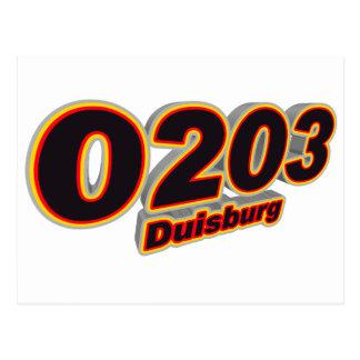 0203 Duisburg Postcard