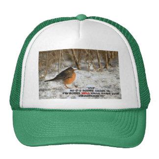 020411-112-AH BACK TOO SOON TRUCKER HATS