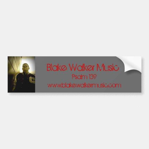 020, música del caminante de Blake, salmo 139, www Pegatina Para Auto
